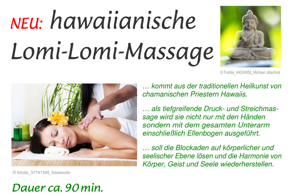 Lomi-Lomi Massage