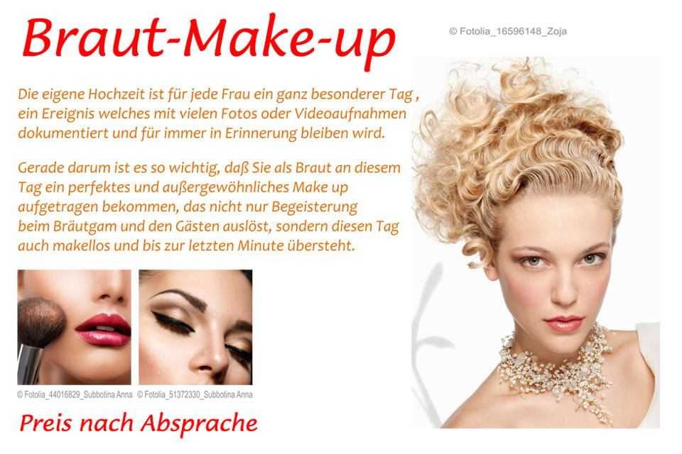 Braut Make-up