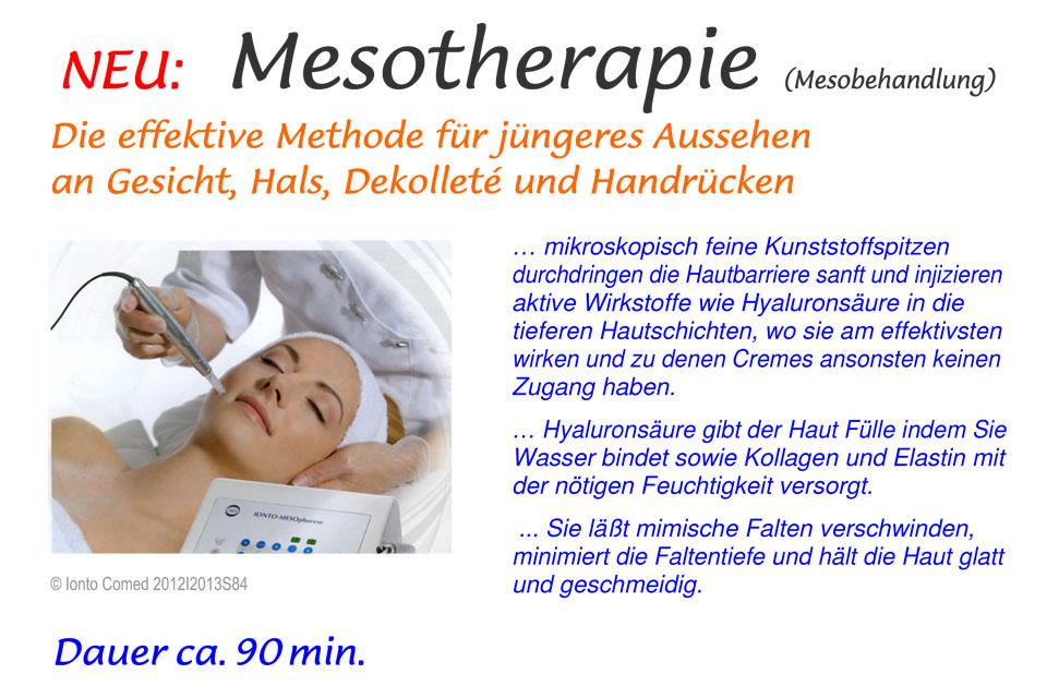 Mesotherapie