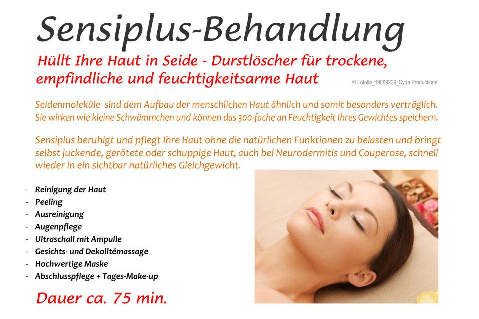 Sensiplus Behandlung