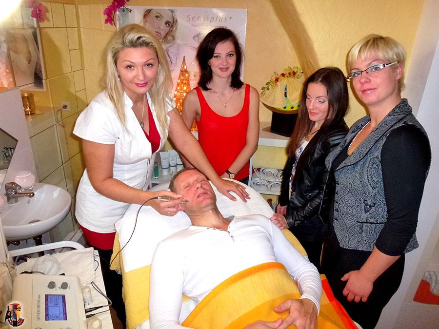 Mesotherapie für den Mann