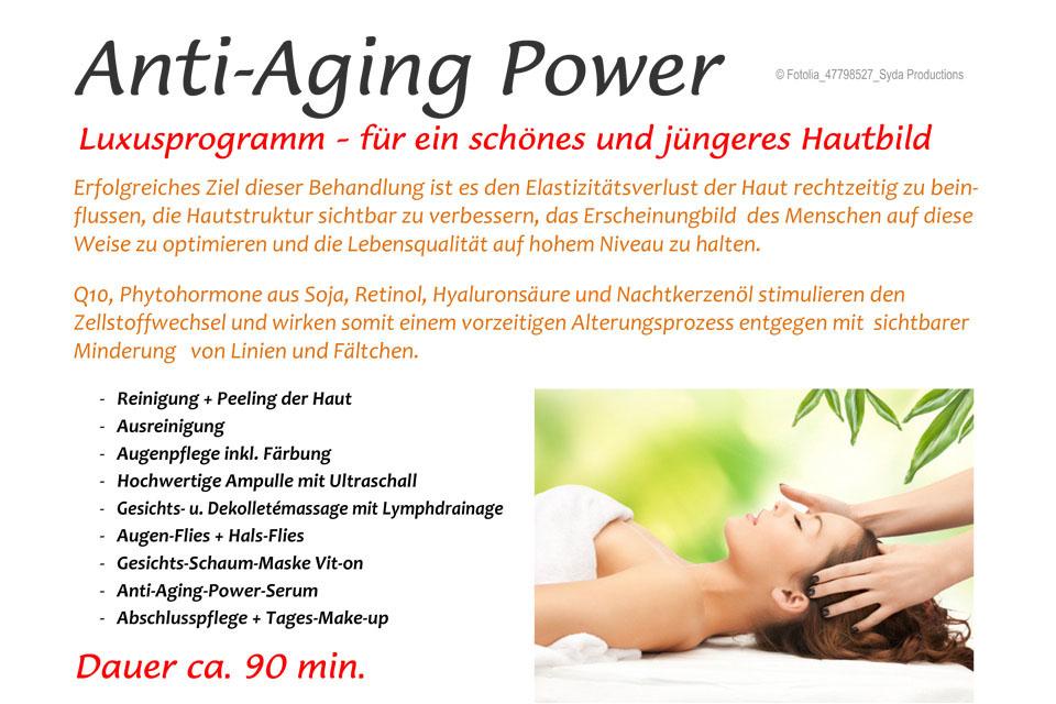 Anti-Aging Power